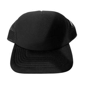 casquette noire / noire
