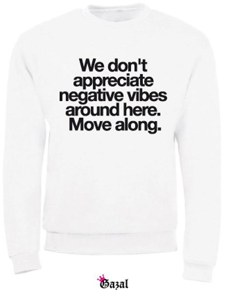 we don't appreciate