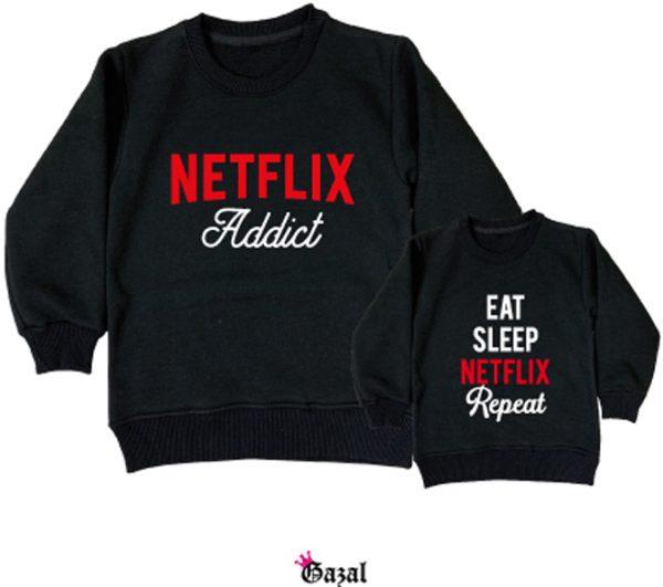 netflix addict + eat sleep ..